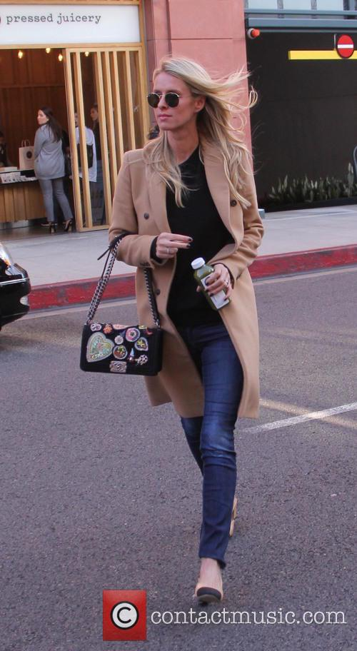 Nicky Hilton Rothschild out and about running errands