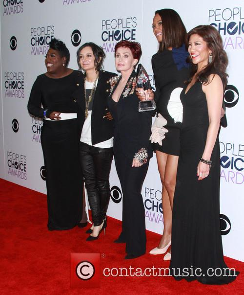 Sheryl Underwood, Sara Gilbert, Sharon Osbourne, Aisha Tyler and Julie Chen 2