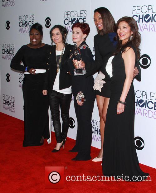 Sheryl Underwood, Sara Gilbert, Sharon Osbourne, Aisha Tyler and Julie Chen 3
