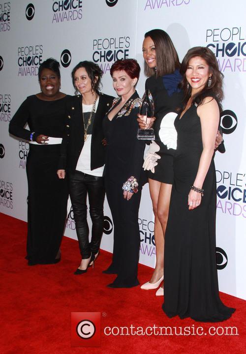 Sheryl Underwood, Sara Gilbert, Sharon Osbourne, Aisha Tyler and Julie Chen 4