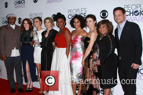James Pickens, Jr., Sarah Drew, Camilla Luddington, Ellen Pompeo, Jerrika Hinton, Kelly Mccreary, Caterina Scorsone, Chandra Wilson and Justin Chambers 4