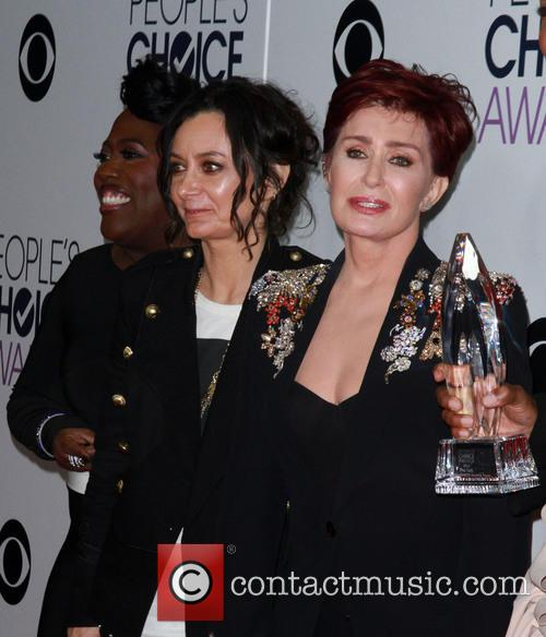 Sara Gilbert and Sharon Osbourne 1