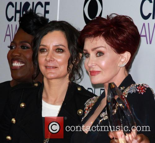 Sara Gilbert and Sharon Osbourne 2