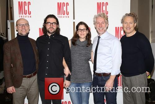Will Cantler, Noah Haidle, Anne Kauffman, Blake West and Bernard Telsey 1