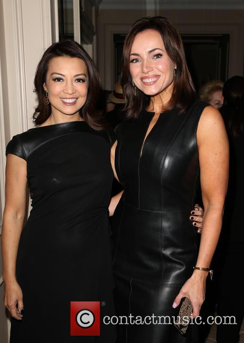 Ming Na Wen and Lisa Robertson 1
