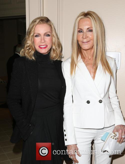Donna Mills and Joan Van Ark