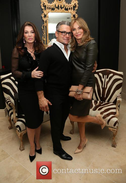 Lisa Vanderpump, Mark Zunino and Jaclyn Smith 2