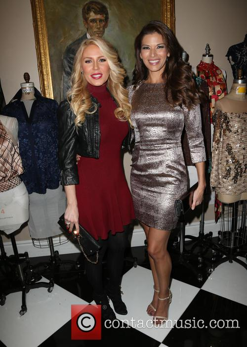 Gretchen Rossi and Adrienne Janic