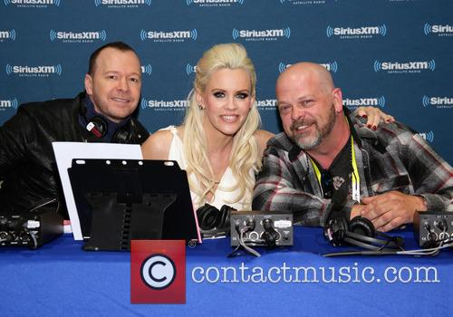 Donnie Wahlberg, Jenny Mccarthy and Rick Harrison