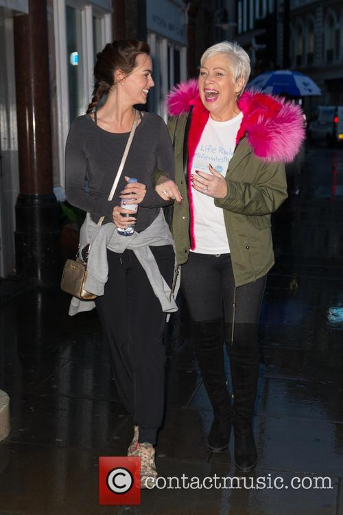 Denise Welch and Jennifer Metcalfe 4