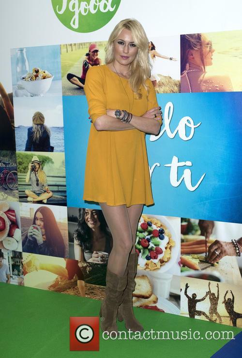 Carolina Cerezuela attends a photocall for Weight Watchers