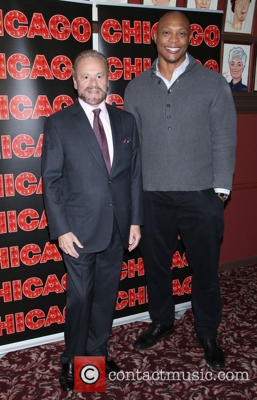 Barry Weissler and Eddie George 1