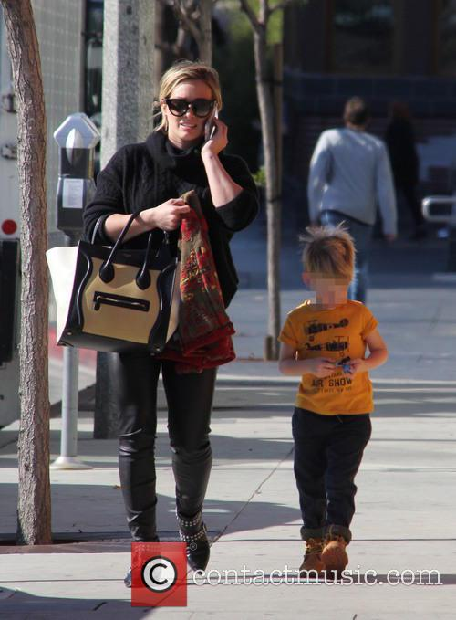 Hilary Duff and Luca Cruz Comrie 6