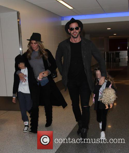 William Levy, Elizabeth Gutiérrez, Christopher Alexander Levy and Kailey Alexandra Levy 2