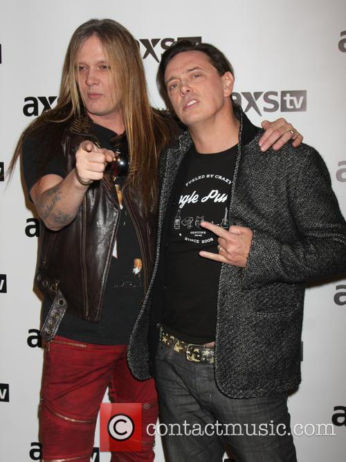 Sebastian Bach and Donovan Leitch