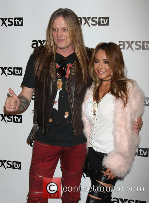 Sebastian Bach and Wife 7