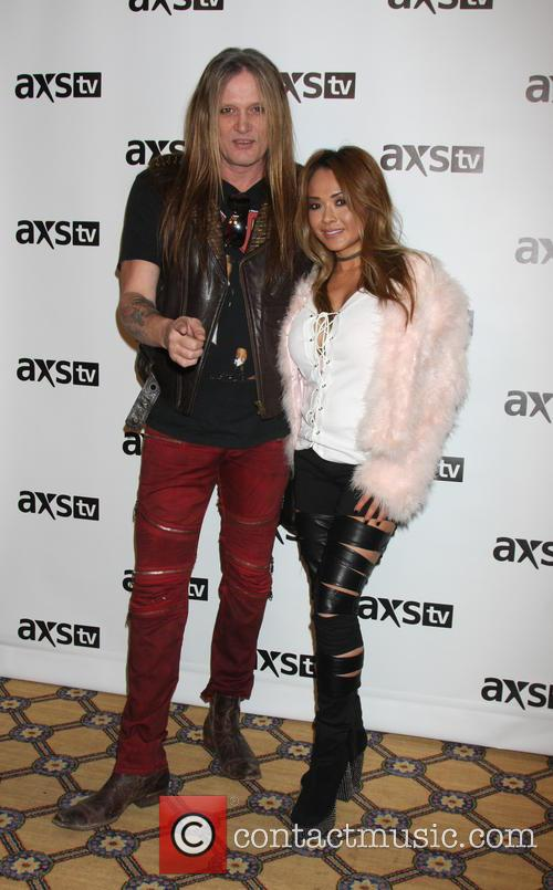 Sebastian Bach and Wife 8
