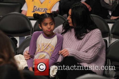 Vanessa Bryant and Gianna Maria-onore Bryant 2