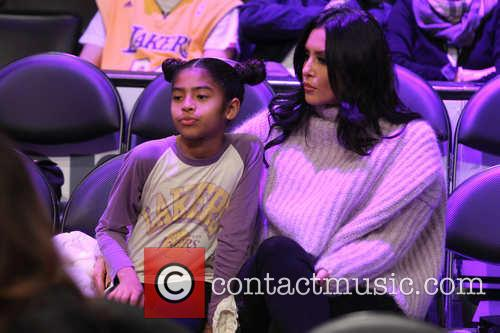Vanessa Bryant and Gianna Maria-onore Bryant 3