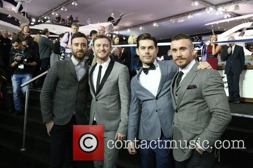The Overtones at the London Boat Show
