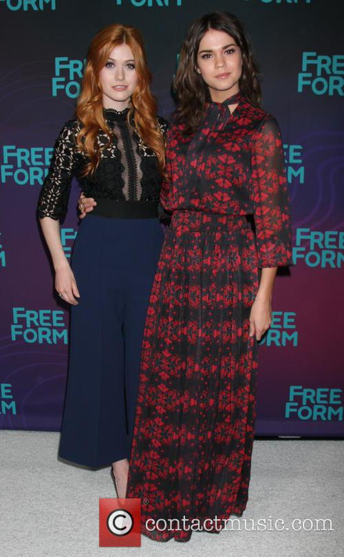 Katherine Mcnamara and Maia Mitchell 4