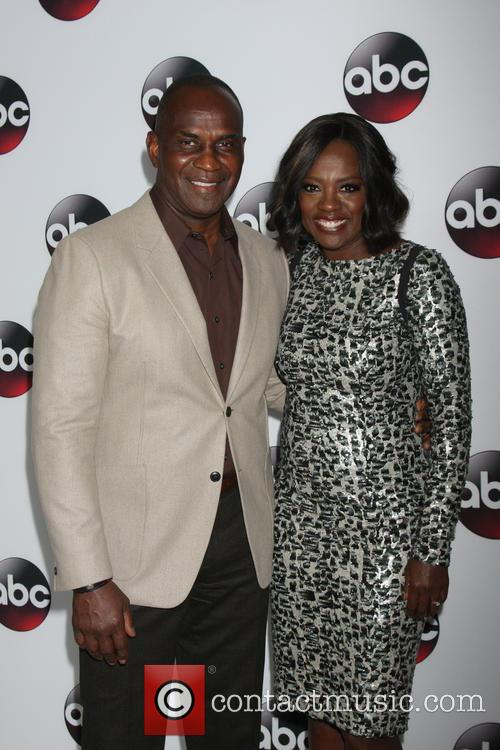 Viola Davis and Husband 6