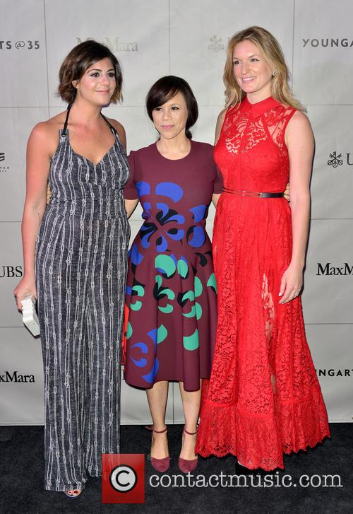 Maria Giulia, Rosie Perez and Sarah Arison 1