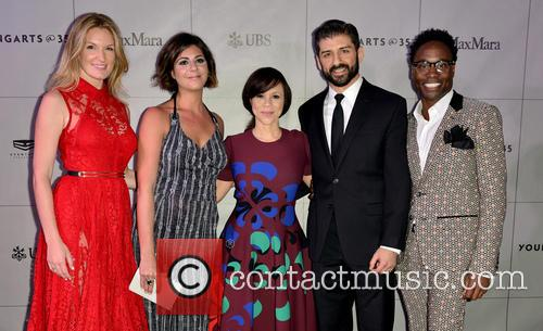 Sarah Arison, Maria Giulia, Rosie Perez, Tony Yazbeck and Billy Porter 4