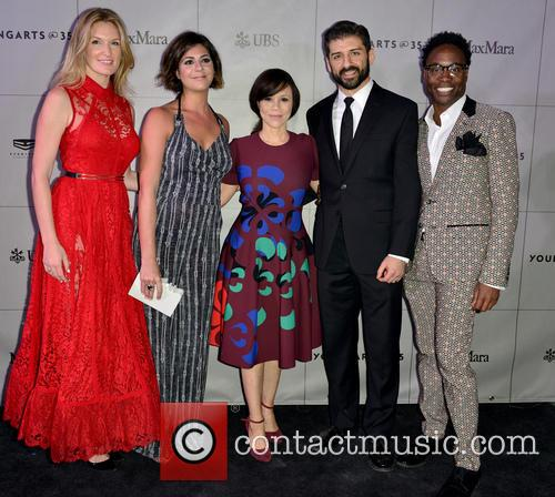 Sarah Arison, Maria Giulia, Rosie Perez, Tony Yazbeck and Billy Porter 5