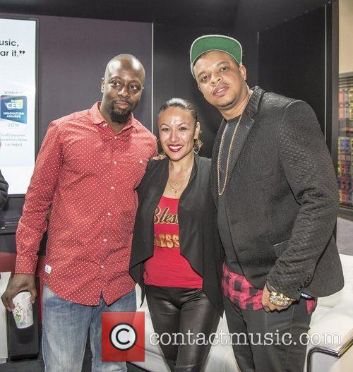 Wyclef Jean and Curtis Young 5