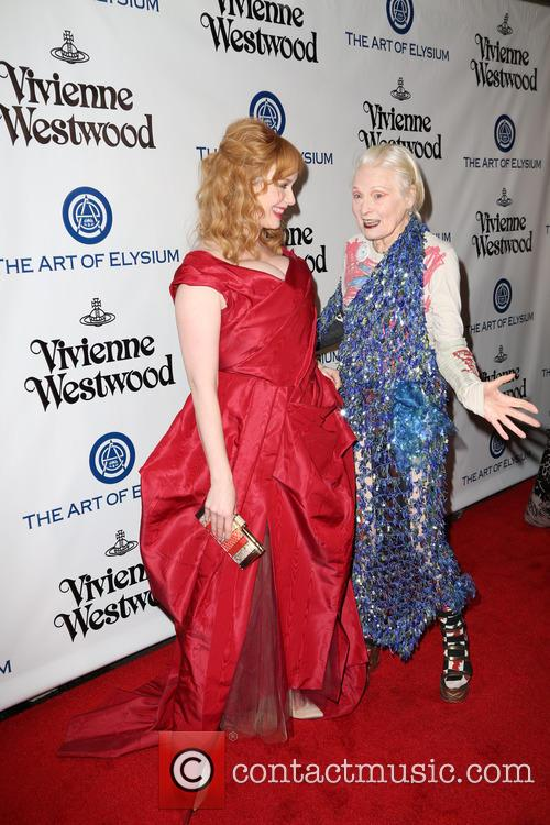 Christina Hendricks and Vivienne Westwood 2