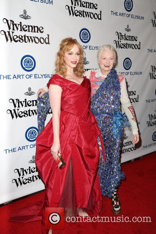 Christina Hendricks and Vivienne Westwood 3