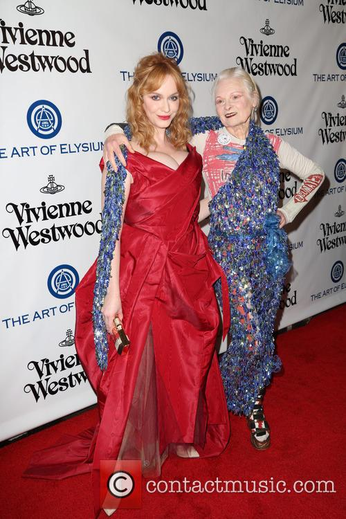 Christina Hendricks and Vivienne Westwood 4