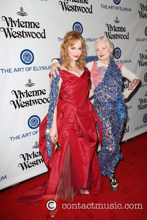 Christina Hendricks and Vivienne Westwood 5