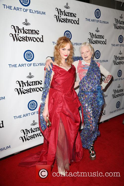 Christina Hendricks and Vivienne Westwood 6