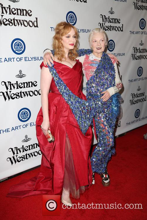 Christina Hendricks and Vivienne Westwood 7