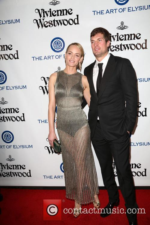Amber Valletta and Christian Mccaw 2