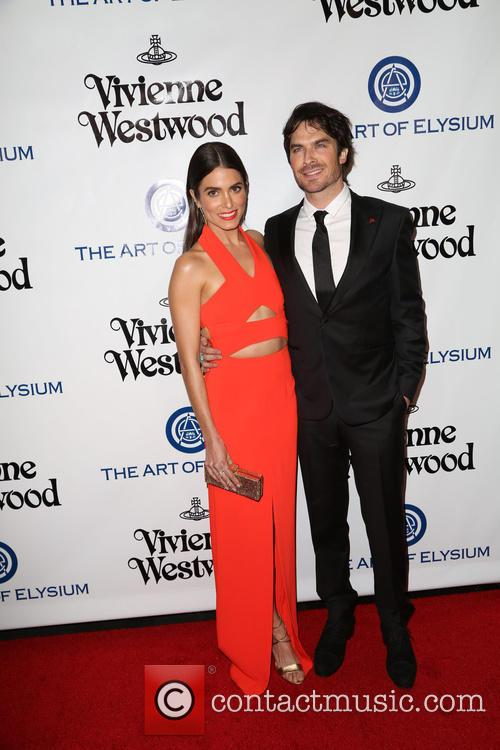Nikki Reed and Ian Somerhalder 9