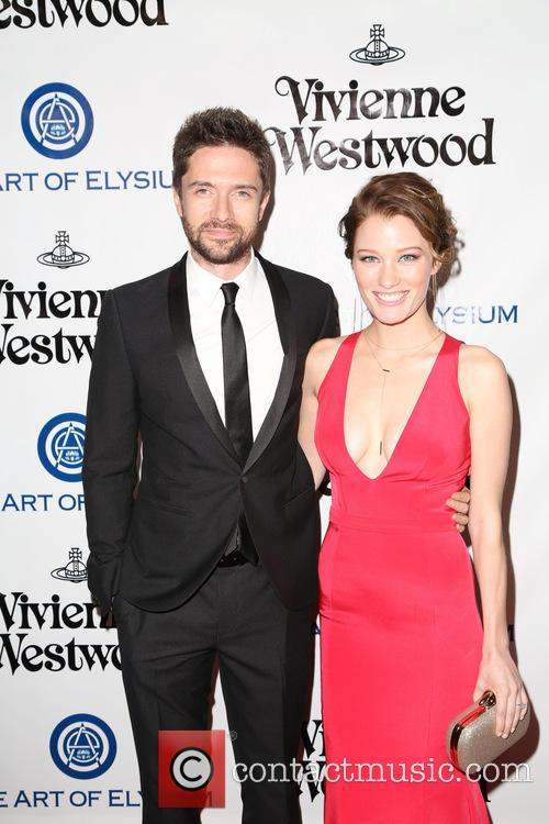 Topher Grace and Ashley Hinshaw 2