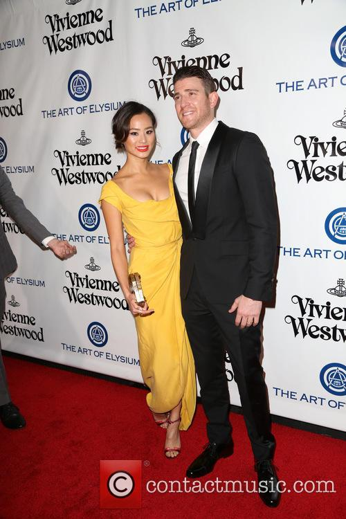 Jamie Chung and Bryan Greenberg 7