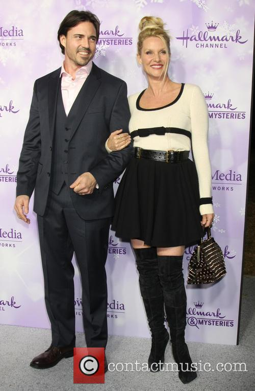 Nicollette Sheridan and Guest