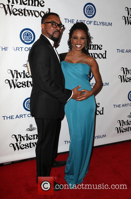 Shanola Hampton and Daren Dukes