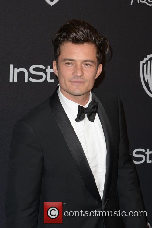 Orlando Bloom Supports Katy Perry At Hillary Clinton Fundraiser