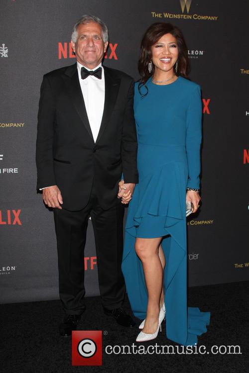 Les Moonves and Julie Chen 3
