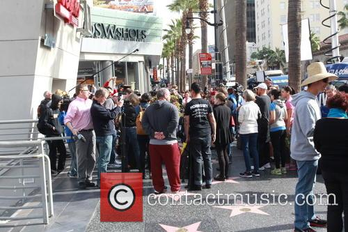 David Bowie, Memorial, The Hollywood Walk and Fame 1