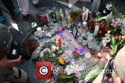 David Bowie, Memorial, The Hollywood Walk and Fame 11
