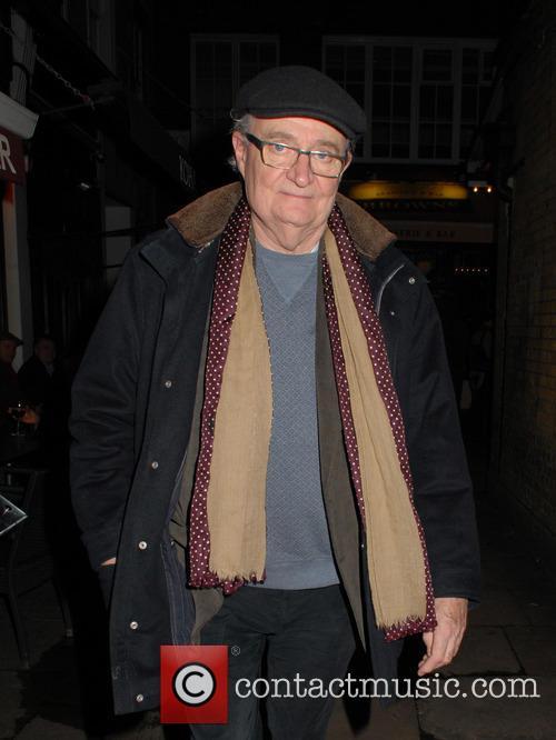 Jim Broadbent leaving Koha Restaurant & Bar