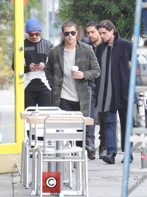 Joe Jonas, Wilmer Valderrama and Nick Jonas 2