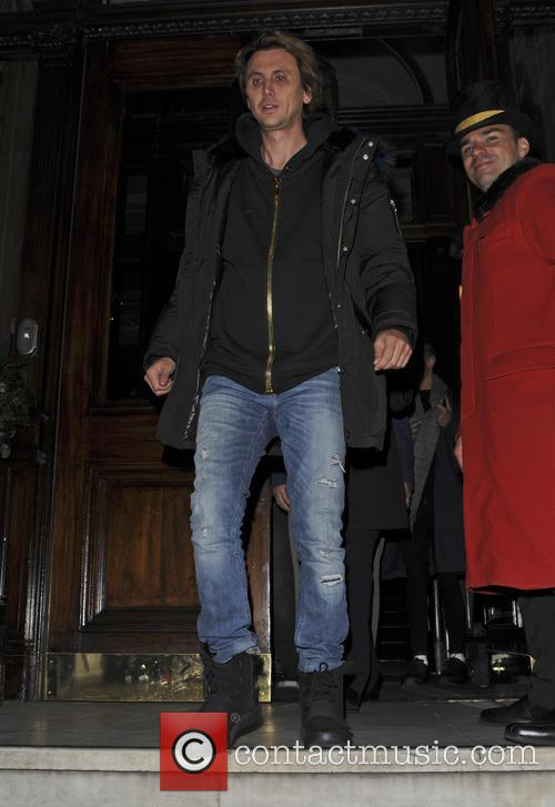 Jonathan Cheban Out and About in London