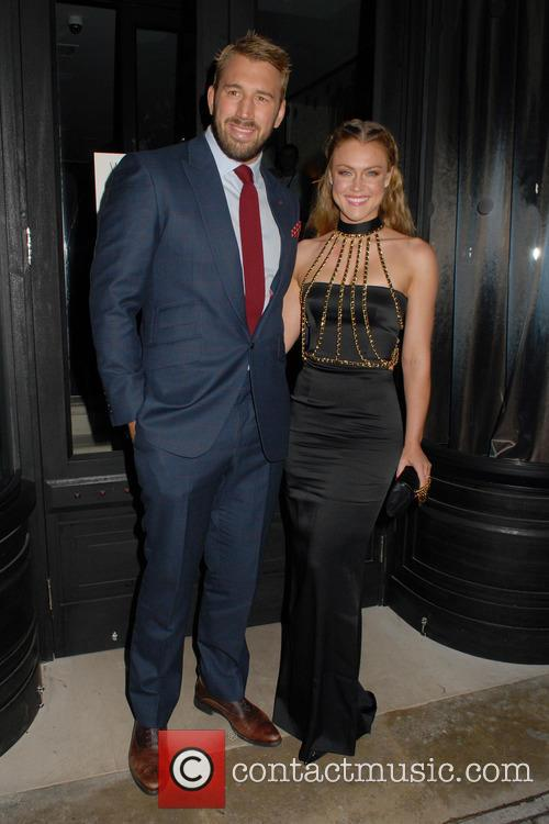 Chris Robshaw and Camilla Kerslake 5